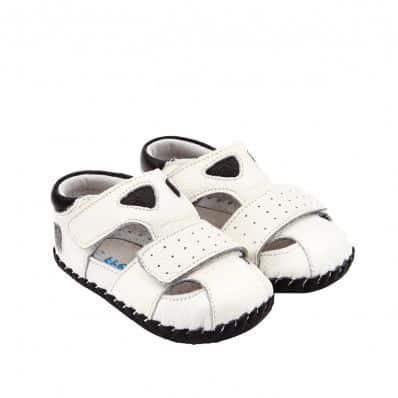 Chaussures premiers pas cuir souple Sandales Sport