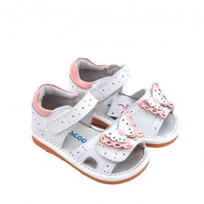 Chaussures semelle souple Sandales papillon