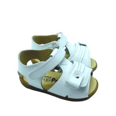 sandales semelles souples ouvertes CEREMONIE Double Scratch C2BB - chaussons, chaussures, chaussettes pour bébé