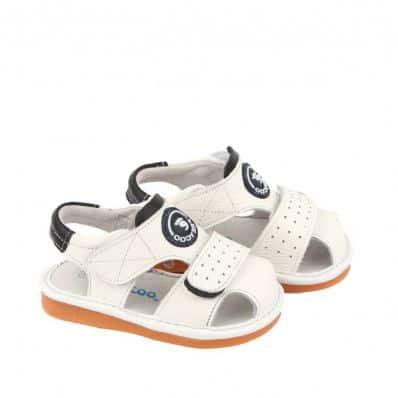 sandales semelles souples Triple Scratch C2BB - chaussons, chaussures, chaussettes pour bébé