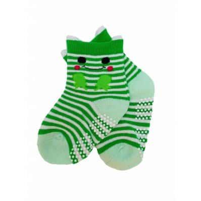 chaussette antidérapante CRAPAUD C2BB - chaussons, chaussures, chaussettes pour bébé