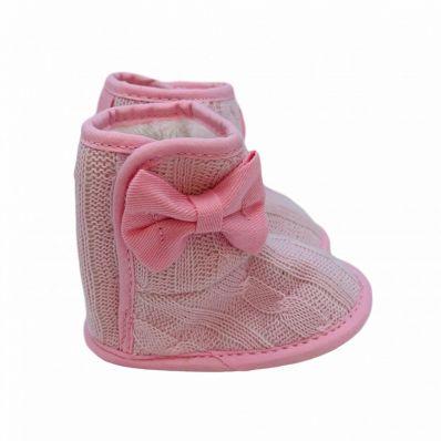 Bottines fourrées tricotées C2BB - chaussons, chaussures, chaussettes pour bébé