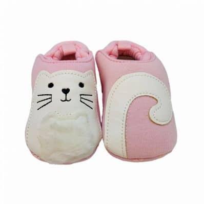 Chaussons en tissu CHATON C2BB - chaussons, chaussures, chaussettes pour bébé