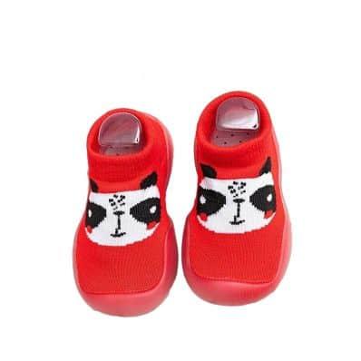 Chaussons-chaussettes respirants PANDA C2BB - chaussons, chaussures, chaussettes pour bébé
