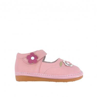 Babies semelle souple à fleurs C2BB - chaussons, chaussures, chaussettes pour bébé