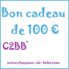 Bon cadeau de 100 euros