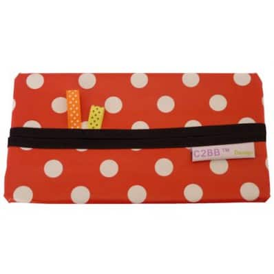 Baby wipes pocket Made in France | Red
