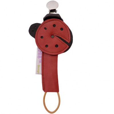 Baby pacifier holder Made in France | Ladybird