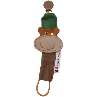 Baby pacifier holder Made in France | Bear