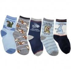 El Lot de 5 calcetines antideslizante para niños | Lot B