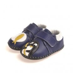 CAROCH - Baby boys first steps soft leather shoes | Small auk