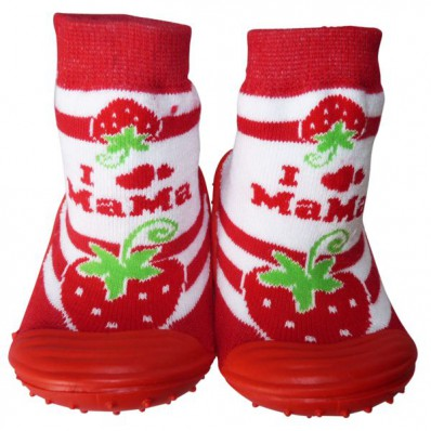 Scarpine calzini antiscivolo bambini - ragazza | Grossa fragola