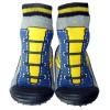 Scarpine calzini antiscivolo bambini - ragazzo | giallo blu