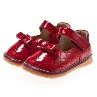 http://cdn2.chausson-de-bebe.com/352-thickbox_default/little-blue-lamb-squeaky-leather-toddler-girls-shoes-red-with-knot-ceremony.jpg