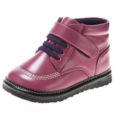 Little Blue Lamb - Chaussures à sifflet | Bottines violettes