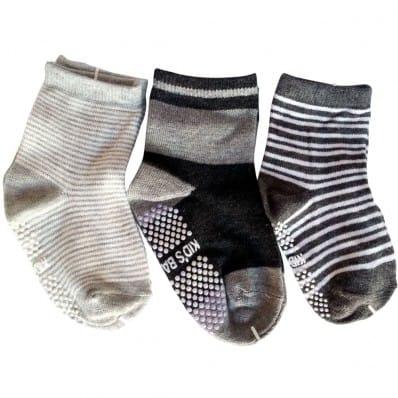 El Lot de 3 calcetines antideslizante para niños | Lot 20