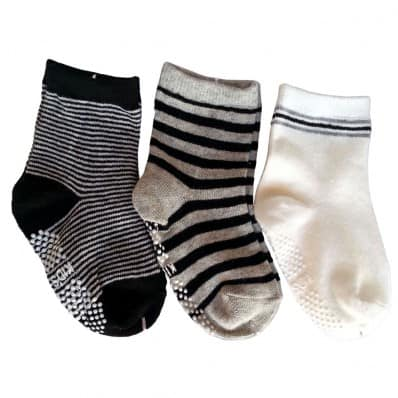 3 pairs of boys anti slip baby socks children from 1 to 3 years old | item 24