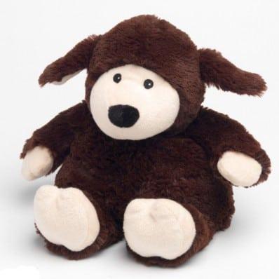 INTELEX - Wärmestofftier für mikrowelle   Schokolade Schaf