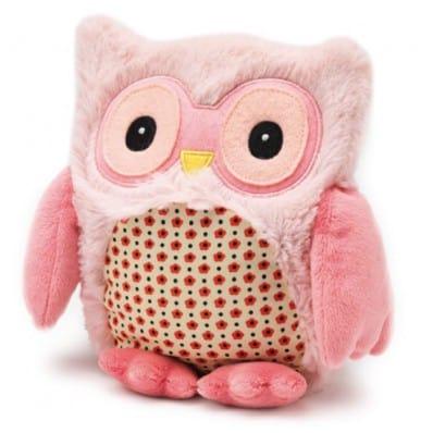 INTELEX - HOOTY plush Microwaveable warmer | Pink owl