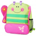 ORANGE IDEA - Girls children backpack schoolbag | Butterfly