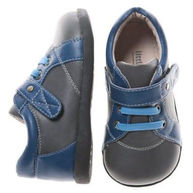 Little Blue Lamb - Scarpine suola morbida - ragazzo | Blu grigio