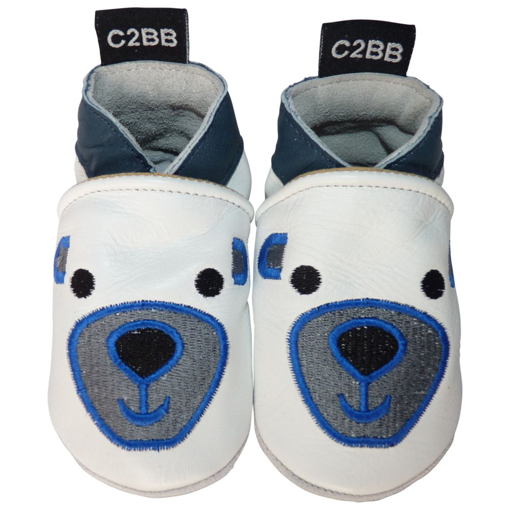 5569cabdb1083 Chaussons bebe cuir souple
