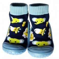 Hausschuhe - Socken Baby Kind geschmeidige Schuhsohle Junge | Jungle