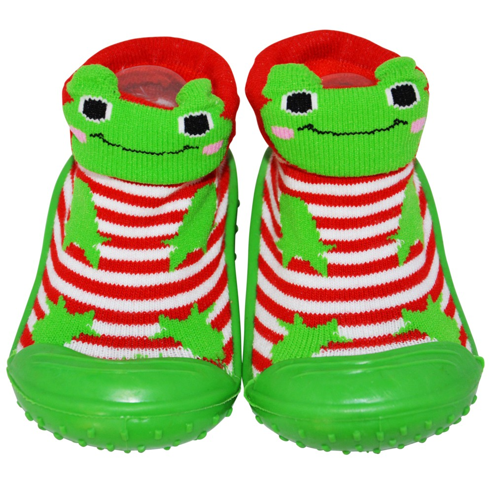 C2BBChaussons-chaussettes antidérapants GRENOUILLE Croaah ! Croaah  !Archives944 16.50C2BB - chaussons 8b594103d24