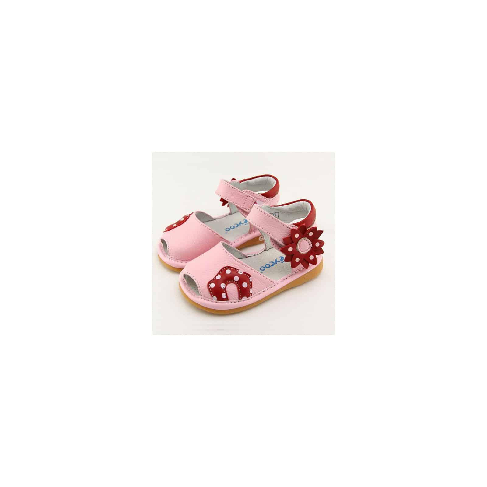 SiffletSandales À Rouge Chaussures Rose Fleur Freycoo Omny8w0vN
