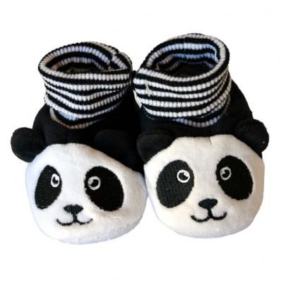 Scarpine bambini di tessuto ragazza | Panda