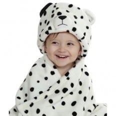 Babydecke polar erstlingsdecke kuscheldecke strickdecke jungen und mädchen | Hund