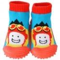 Calcetines con suela antideslizante para niños | Aviador