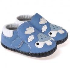 CAROCH - Chaussures 1er pas cuir souple | Tortue