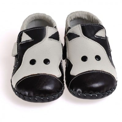 CAROCH - Baby boys first steps soft leather shoes | Cow