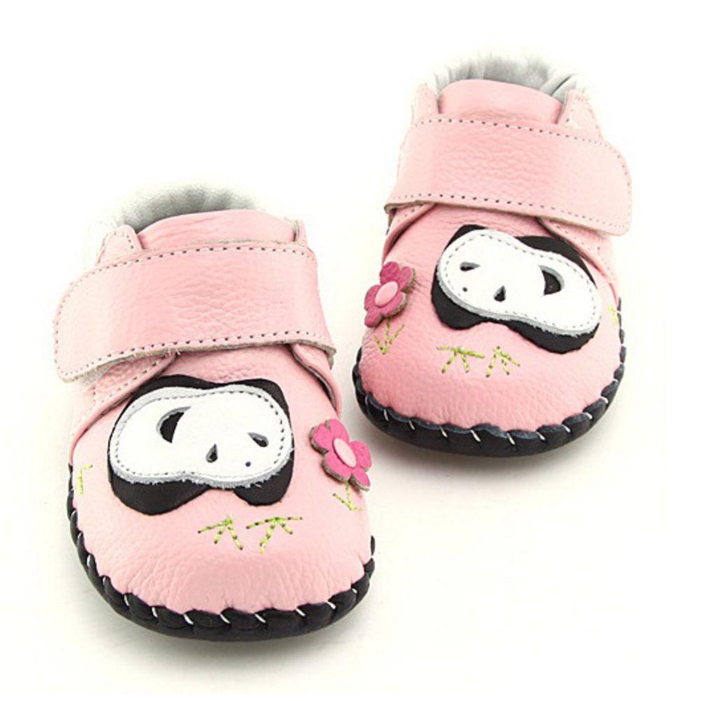 en soldes b062b a1ffb FREYCOO - Chaussures bebe premiers pas cuir souple | Panda