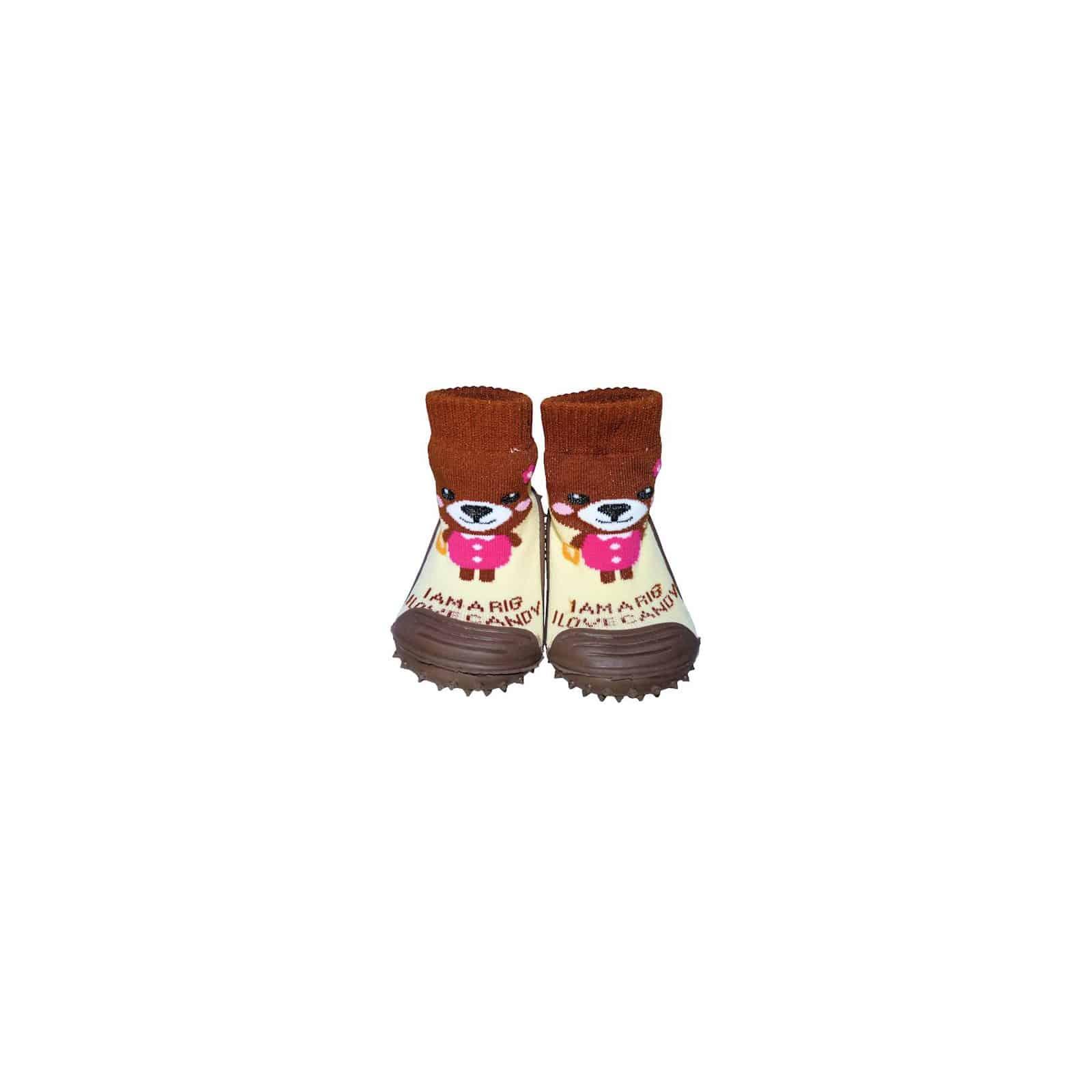 f1f47227954aa Chaussons-chaussettes nourrisson antidérapants semelle souple