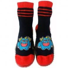 Scarpine calzini antiscivolo bambini - ragazzo | Mostro