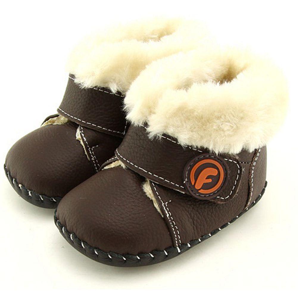 76637411955d9 FREYCOO - Chaussures premiers pas cuir souple