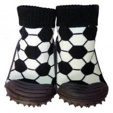 Hausschuhe - Socken Baby Kind geschmeidige Schuhsohle Junge | Fußball