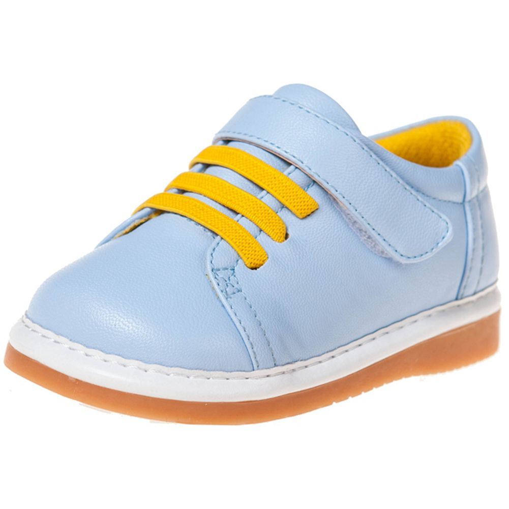 Little Blue Lamb - Zapatos de cuero chirriantes - squeaky shoes niños qKA6z