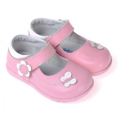 CAROCH - Chaussures semelle souple | Babies rose