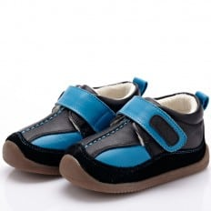 YXY - Soft sole boys Toddler kids baby shoes | Sneakers blue and black