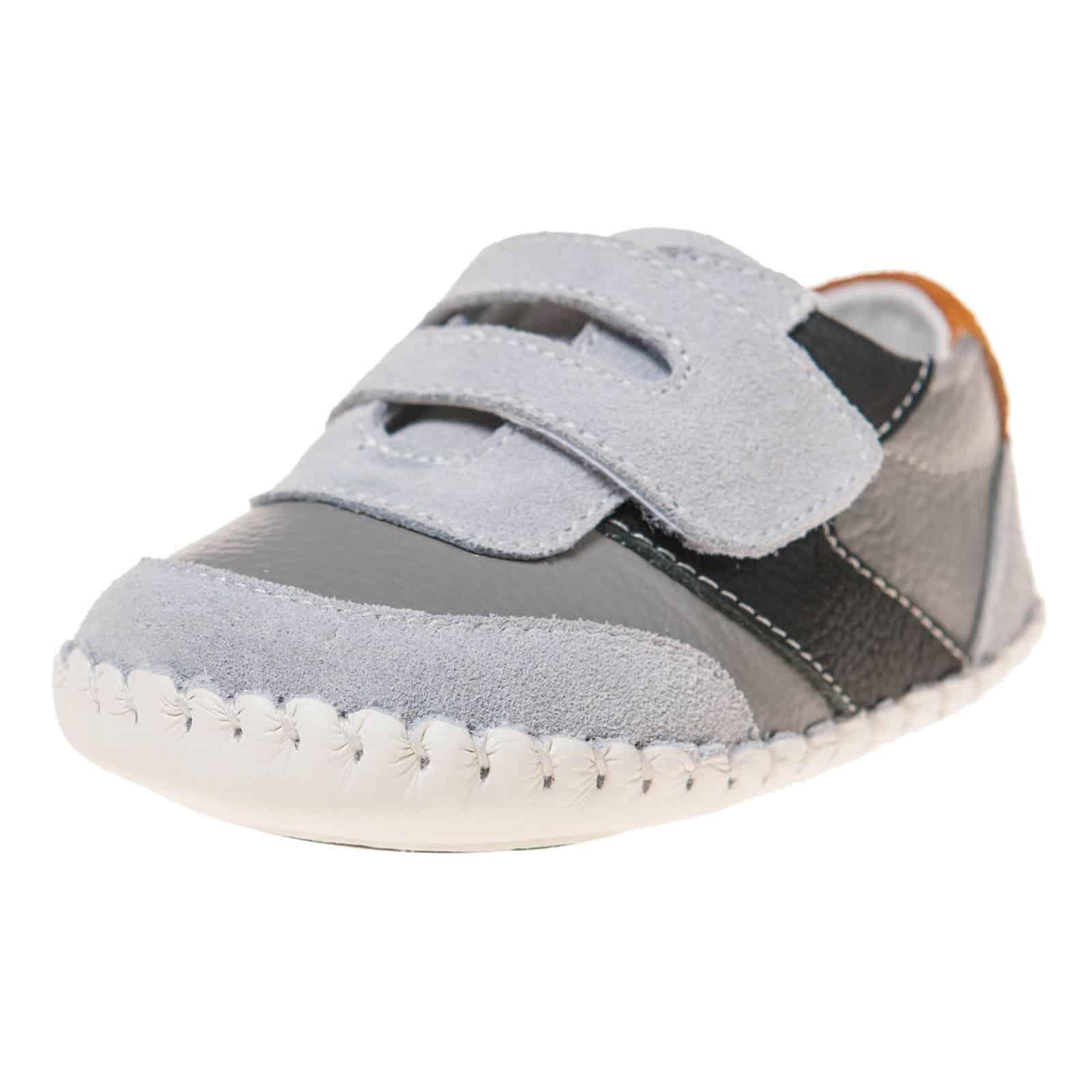 9106142551833 Little Blue Lamb - Chaussures premiers pas bébé en cuir souple ...