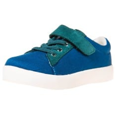 Little Blue Lamb - Soft sole boys Toddler kids baby shoes | Velvet blue sneakers
