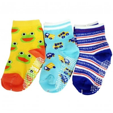 3 pairs of boys anti slip baby socks children from 1 to 3 years old | item 7