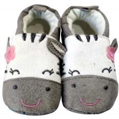 Zapatillas tejido para niños | Cebra