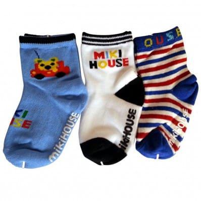 3 paires de chaussettes antidérapantes bébé enfant de 1 à 3 ans | Lot 23