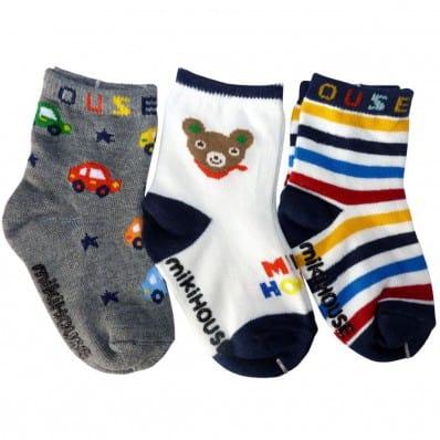 El Lot de 3 calcetines antideslizante para niños   Lot 25