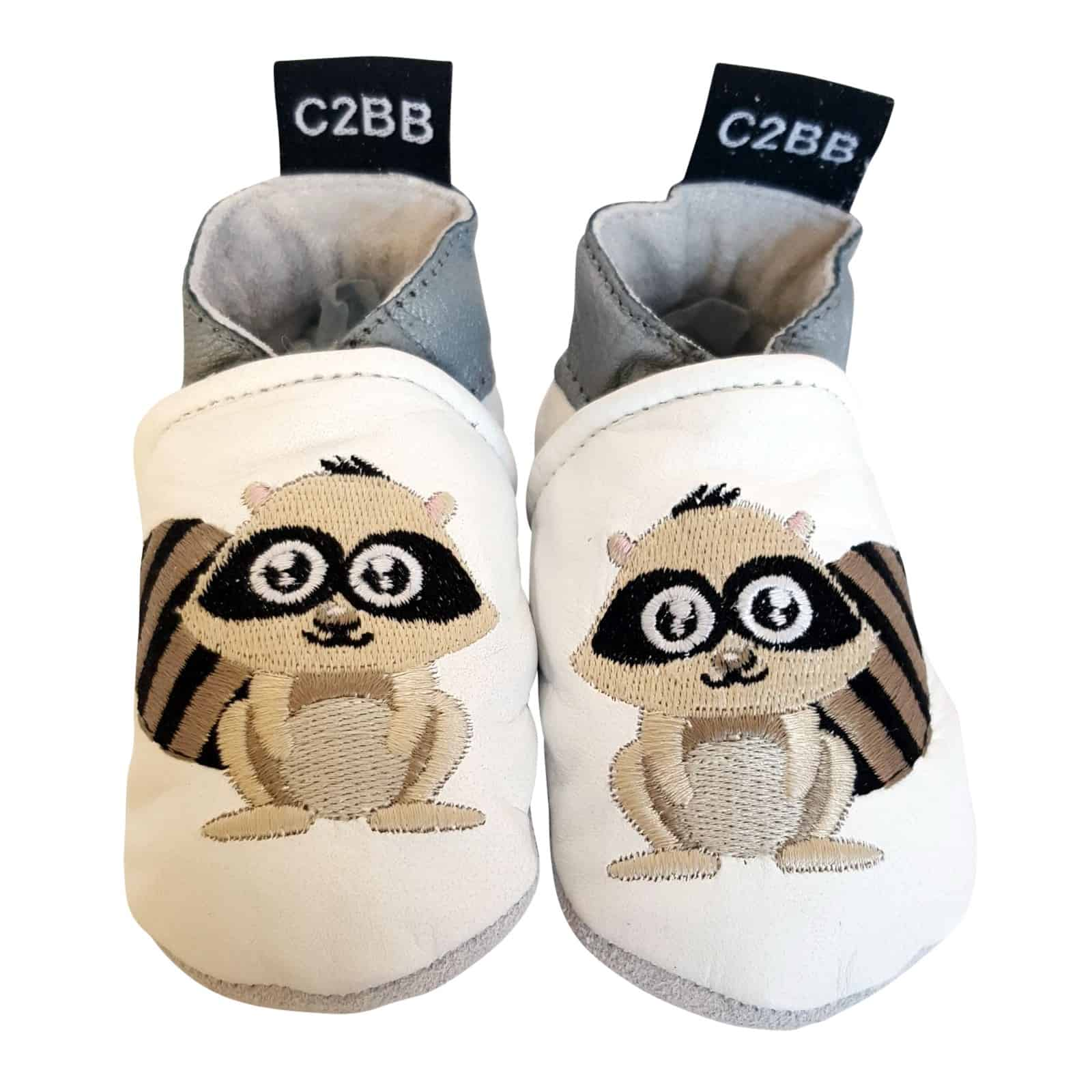 45e80180c413c Soft leather baby shoes | Raccoon