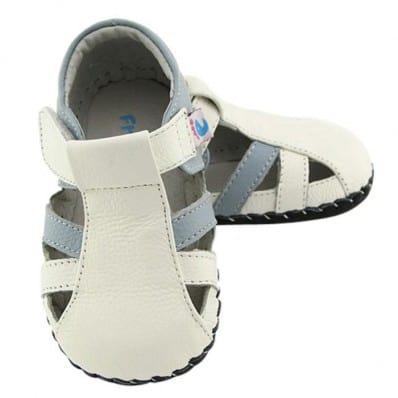 Chaussures Bébé Lot de 2 Bleu/beige PL4Mxd